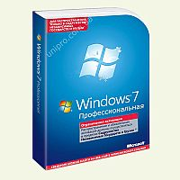 Microsoft Windows Pro 7 SP1 64-bit Russian FQC-04673