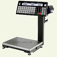 Ваги торгові з друком етикетки ВПМ-15.2-Т  НГЗ  15 кг, d 2 5 г