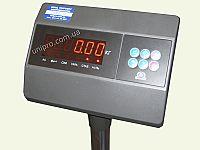 Весовой индикатор  вид спереди  весов товарных ЗЕВС ВПЕ-А6