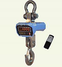 Крановые весы с управлением по инфракрасному каналу ВК-ИК