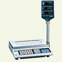 Весы торговые электронные со стойкой CAS AP-EX LT