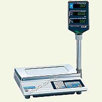 Весы торговые электронные со стойкой CAS AP-М-30 LT