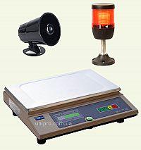 Ваги-дозатор  електронні ваги з функцією дозування  з одним релейним каналом ВТА-60 3-7-1R