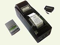 Фіскальний реєстратор Екселліо LP-1000, з маленьким індикатором клієнта і модемом DTT-500 E