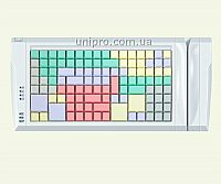 Программируемая POS-клавиатура LPOS-II-128  со считывателем магнитных карт