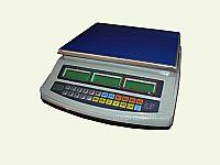 Весы торговые электронные без стойки ВТЕ-Центровес-15Т1 СМ