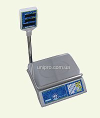 Весы торговые со стойкой VP-L15-LCD Jadever JPL 15K LCD