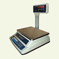 Весы торговые электронные со стойкой ВТНЕ-15Т3
