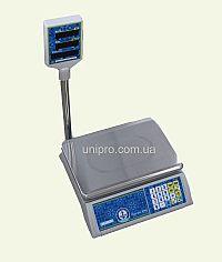Весы торговые со стойкой VP-L15-LED Jadever JPL 15K LED