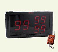 Приемник сигналов вызова официанта и персонала HCM1350 RECS  с пультом дистанционного управления