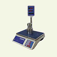 Весы торговые электронные со стойкой ВТНЕ-15Т3 Амиго