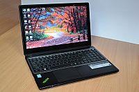 Сенсорный ноутбук Gateway NV570P13u