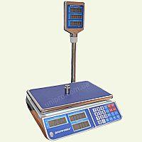 Весы торговые со стойкой F902H-СL