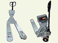 Гидравлическая тележка со встроенными весами  ЗЕВС  ВПЕ-500-4