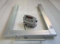 Весы палетные электронные 4BDU-1500П-Б, оцинкованные