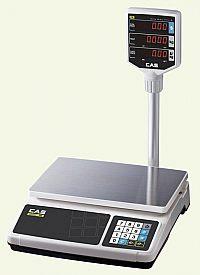 Весы торговые электронные со стойкой CAS PR-30P