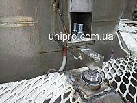 Установка бочки на тензодатчики, установка тензодатчиков на бочку