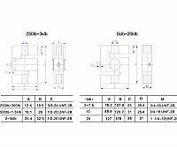 S-образный тензодатчик сжатия растяжения Keli DEF-200kg