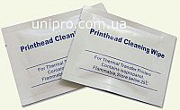 Салфетка для чистки термоголовки принтера