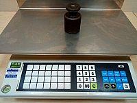 Бу Весы торговые электронные со стойкой CAS AP-EX-15 LT с RS-232