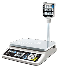 Весы торговые электронные со стойкой CAS PR-15 II P