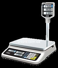 Весы торговые электронные со стойкой CAS PR-30 II P