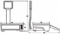 Metlertoledo bplus dimensions