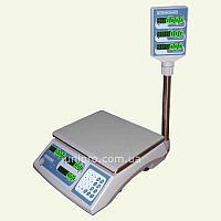 Весы торговые электронные со стойкой ВТНЕ-30Т2