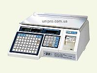 Весы торговые с печатью этикетки CAS LP 1.6