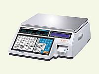 Весы торговые с печатью этикетки CAS CL5000J-IB