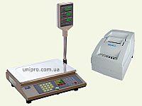 Весы чекопечатающие с переносным принтером ВТА60 15-5   UNS BP1.2  НПВ  15 кг, d 2 5 г