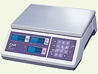 Весы торговые электронные без стойки CAS ER JR- 30 CB