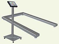 Весы палетные электронные нержавеющие ВН-300-П-а