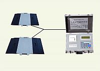 Автомобільні підкладні ваги з ваговимірувальним модулем М2