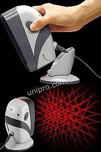 Многоплоскостной настольный лазерный сканер штрих кода Zebex Z-6070