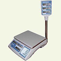 Весы торговые электронные со стойкой ВТНЕ-15Т2К