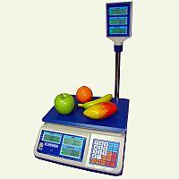 Весы торговые электронные со стойкой ВТНЕ 1-Т2К