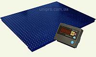 Весы платформенные электронные Зевс ВПЕ-1000-4 H1212 СТАНДАРТ