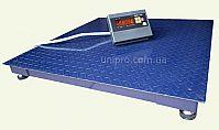 Ваги платформні електронні Зевс ВПЕ-1000-4 H1212 СТАНДАРТ