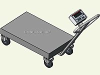 Візок з вбудованими вагами  Axis  BDU В-В-С